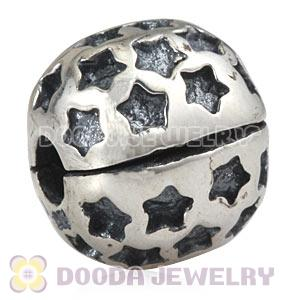925 Sterling Silver European Stardom Clip Beads Wholesale