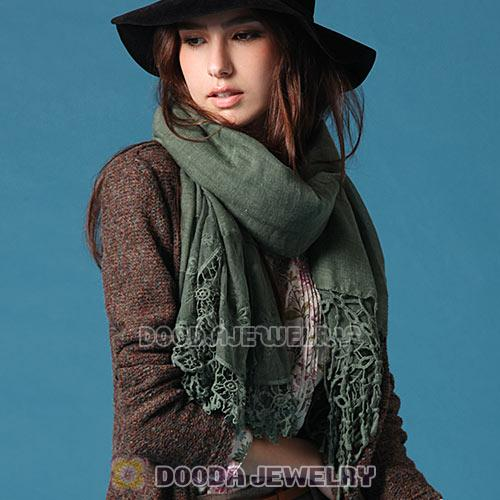 New Arrival Fashion European Rural Pastoral Pashmina Scarves Wholesale