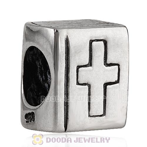 Solid Sterling Silver Charm Jewelry Bible Beads and Charms