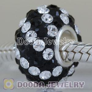 Fashion Jewelry Silver Charms with 90 pcs crystal rhinestones