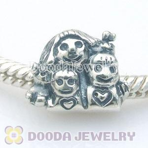 925 sterling silver mother's day beads European charms