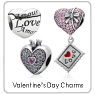 love heart charms
