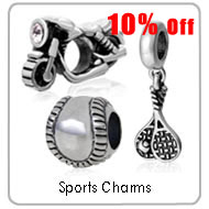 sports charms